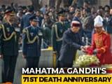 Video : PM Modi, President Kovind Pay Tribute To Mahatma Gandhi At Rajghat