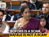 "Video : ""Bofors Sank Congress, Rafale Will Bring PM Modi Back"": Defence Minister"