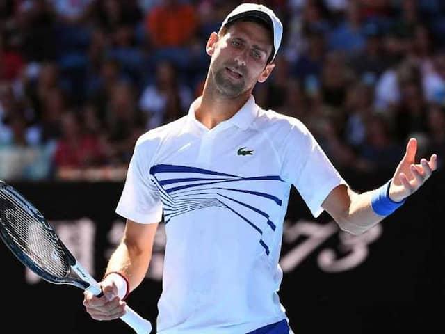 """Agitated"" Novak Djokovic Regrets Meltdown In Floodlight Fury At Australian Open"