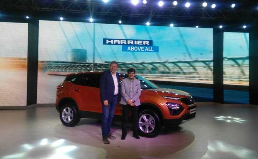 The new Tata Harrier is based on the Land Rover Sourced OMEGA platform.