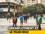 Video : Unemployment Rate Highest In 45 Years, Reveals Stalled Report