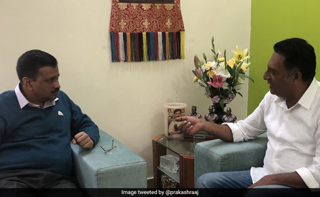'Need People Like Prakash Raj In Parliament,' Tweets Arvind Kejriwal