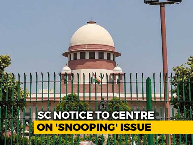 Video : Supreme Court To Examine Government's Controversial 'Snooping' Order