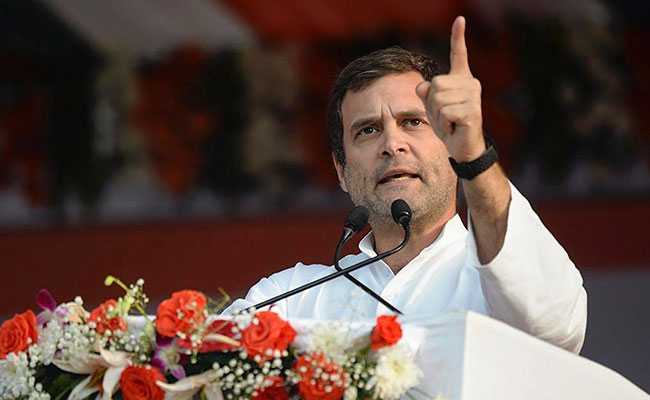 'Rs 17 A Day An Insult': Rahul Gandhi Shreds Farmers' Handout In Budget