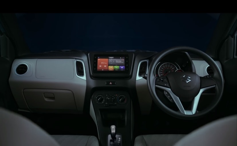 The 2019 Maruti Suzuki Wagon R gets an all-new dashboard, and a touchscreen infotainment system
