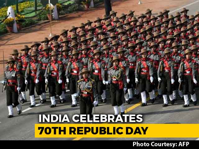 Video : Woman Power Leads The Way At 70th Republic Day Celebrations