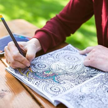 5 Adult Colouring Books For A Peaceful, Stress Free Mind