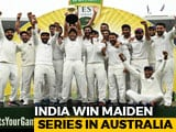 Video: India End 71-Year-Wait, Win Maiden Test Series In Australia