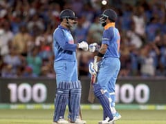 2nd ODI: Virat Kohli, MS Dhoni Steer India To Series-Levelling Win Against Australia