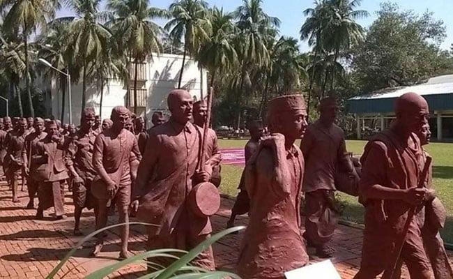 Image result for national-salt-satyagraha-memorial-opening-by-pm-modi-in-dandi