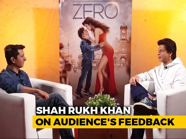 I Take Feedback With Love: Shah Rukh Khan