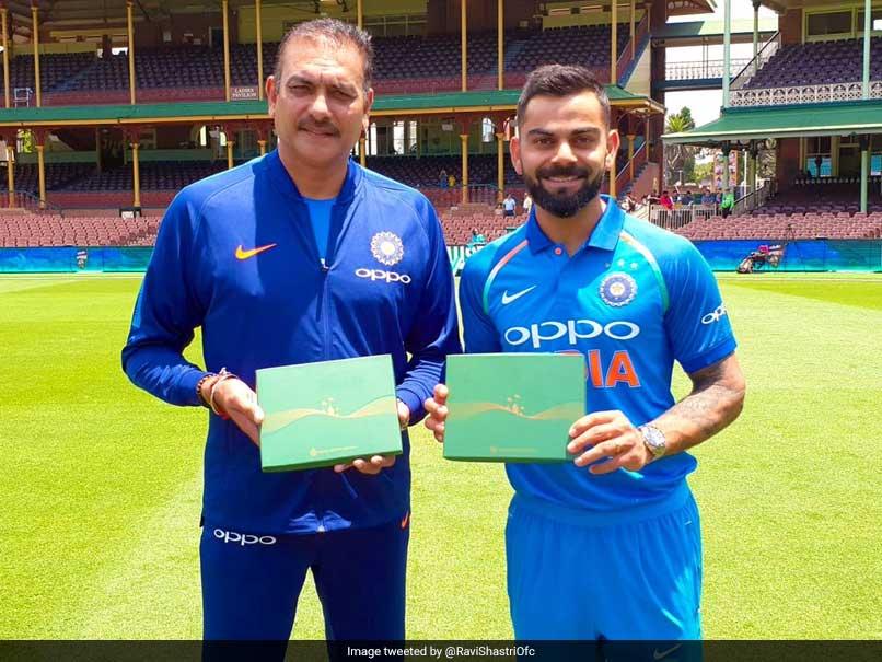 Virat Kohli, Ravi Shastri Receive Honorary Membership Of Sydney Cricket Ground