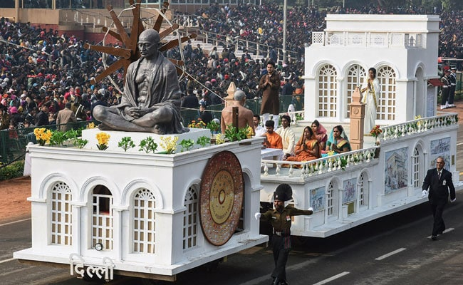 Image result for delhi tableau on republic day 2019