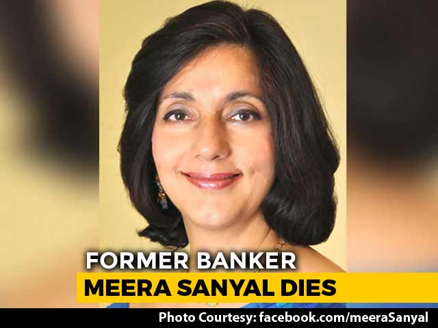 Video : Meera Sanyal, Banker-Turned-Politician, Dies At 57