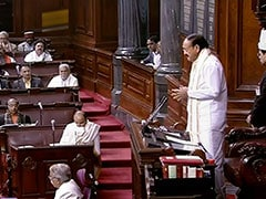 Venkaiah Naidu Orders Protesting Tamil Nadu Lawmakers Out Of Rajya Sabha