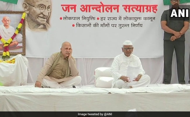 'Yes, BJP Used Me In 2014,' Says Anna Hazare, On Day 6 Of Hunger Strike