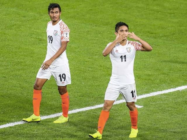 Asian Cup 2019: India starts its campaign with emphatic win against Thailand, Sunil Chhetri takes himself ahead of Lionel Messi