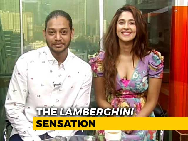 Video : The <i>Lamberghini</i> Duo At NDTV Studio