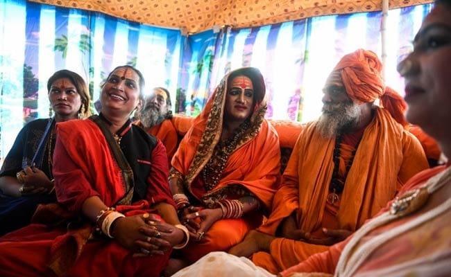 In A First, Transgenders Take Holy Dip At Kumbh Mela