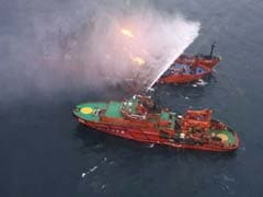 Ship In Deadly Black Sea Fire Barred From Port Over US Sanctions: Report