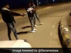 यूपी में लड़के ने केक काटने के लिए चाकू की जगह चलाई बंदूक, वायरल हुआ VIDEO