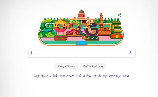 Google Doodle; ভারতের ৭০ তম প্রজাতন্ত্র দিবসে দেশবাসীকে গুগলের বিশেষ অভিনন্দন