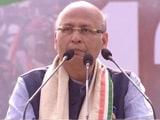 "Video : Aim Of ""Rainbow Alliance"" Is A Secular Government, Says Abhishek Singhvi"
