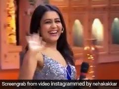 नेहा कक्कड़ ने कानपुरिया अंदाज में खूब की मस्ती, अपनी अदाओं से किया घायल... देखें Video