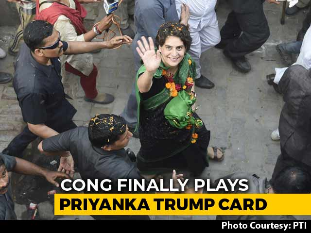 Video : From Dubai To US, Scripting Of Priyanka Gandhi Vadra's Political Plunge
