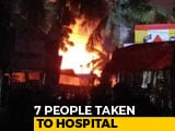 Video : Massive Fire At Hyderabad's Nampally Exhibition Ground, 7 People Hospitalised