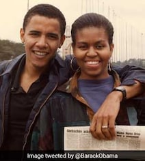 Over 5 Million 'Likes' For Throwback Pic Of Barack And Michelle Obama
