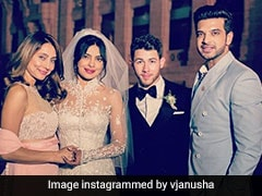 Yet Another Pic From Priyanka Chopra And Nick Jonas Wedding, Courtesy Anusha Dandekar