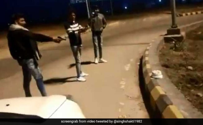 Man 'Shoots' Birthday Cake On Video. It Had 'Gujjar' Written On It