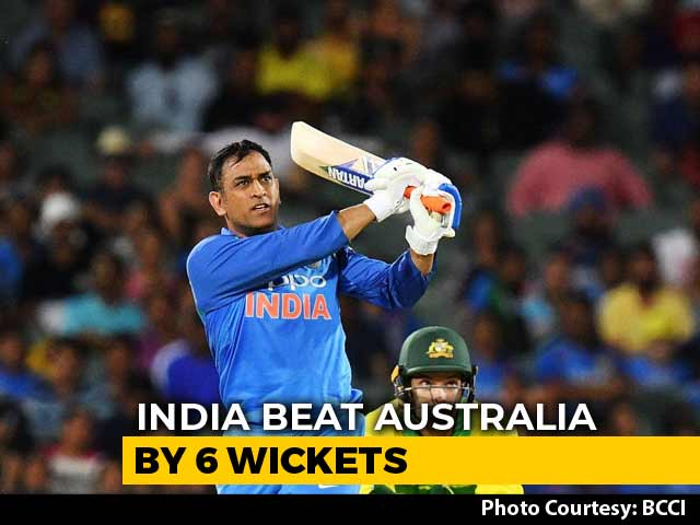 Video : Brilliant Kohli, Dhoni Steer India To Series-Levelling Win