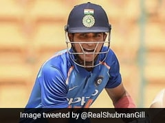 Shubman Gill Gears Up For ODI Series Against New Zealand. Watch