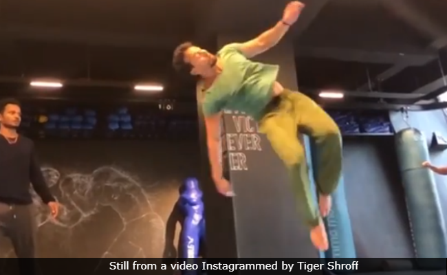 Tiger Shroff's Work-Out Video Will Inspire You To Hit The Gym Right Now