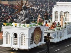 Republic Day Parade Pays Grand Tribute To Mahatma Gandhi. See Pics