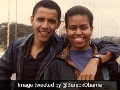 Over 5 Million 'Likes' For Sweet Throwback Pic Of Barack And Michelle Obama