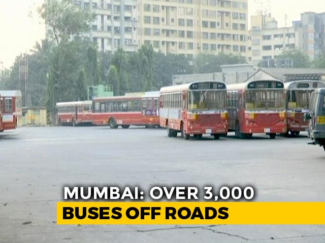 Video : BEST Strike Hits Normal Life In Mumbai