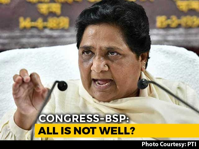 "Video : On Mayawati's ""Warning"" Over Support, A Clarification From Congress"