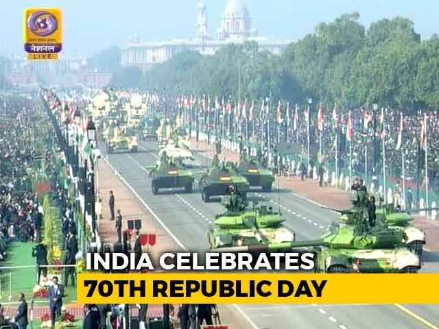 Video : India's Military Might On Display At Grand Republic Day Parade
