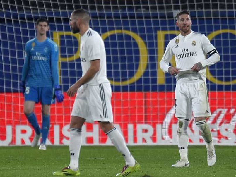 Real Madrid Face Champions League Qualification Fight Unless Form Improves