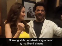 माधुरी दीक्षित ने अनिल कपूर संग 'एजी ओजी लोजी सुनोजी...' गाने पर किया डांस, Video वायरल