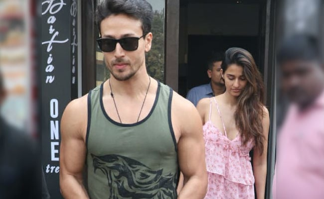 Catching Up With Tiger Shroff And Disha Patani. See Trending Pics