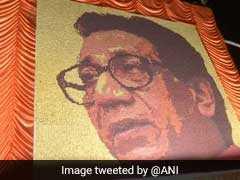 Bal Thackeray's Birthday: शिवसेना समर्थक ने कुछ इस अंदाज में बाला साहेब को दी श्रद्धांजलि, 33 हजार रुद्राक्ष से बनाई तस्वीर