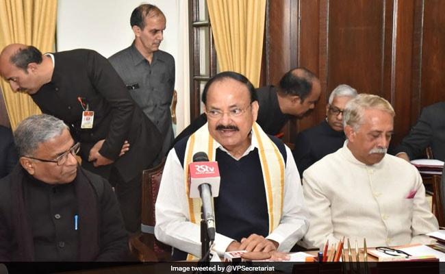 Venkaiah Naidu, Sumitra Mahajan Call All-Party Meet Before Budget Session