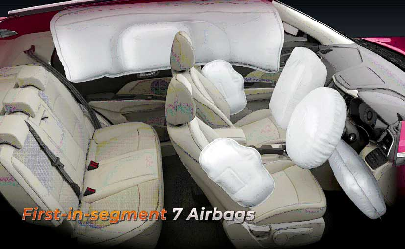 The upcoming Mahindra XUV300 gets seven-airbags which is a first-in-segment.
