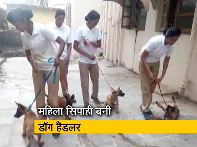 Videos : मुंबई पुलिस को मिले 5 नए 'सिपाही