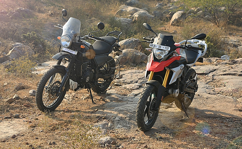 Bmw G 310 Gs Vs Royal Enfield Himalayan Abs Comparison Review Ndtv