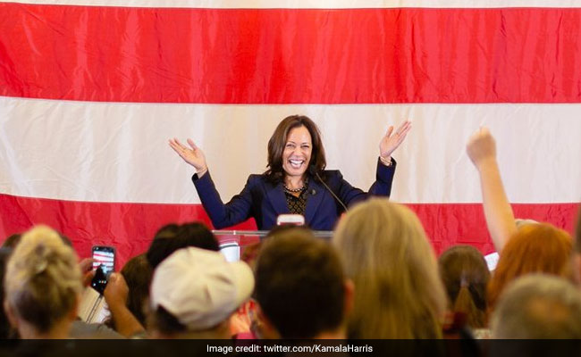 Kamala Harris Credits Mother For Motivating Her Political Career